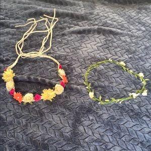 Bundle of 2 floral head wraps